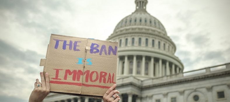 The Ban is Immoral © ep_jhu   Flickr