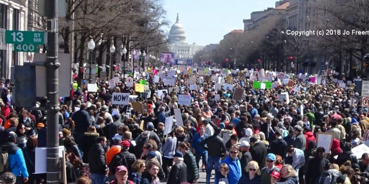 Jo Freeman's DC March for our lives